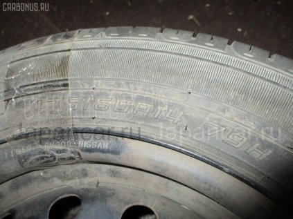 Летниe шины Dunlop Enasave ec203 175/60 14 дюймов б/у в Новосибирске