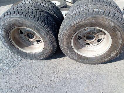 Зимние колеса Yokohama Geolandar i/t g072 265/70 16 дюймов Weds ширина 8 дюймов вылет -1 мм. б/у в Челябинске