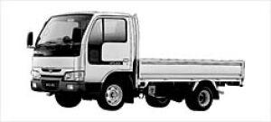 Nissan Atlas 10 2000 SUPER LOW, LONG BODY DX 2003 г.