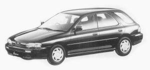 Subaru Impreza 4WD SPORT WAGON 1.8L HS 1993 г.