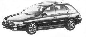 Subaru Impreza 4WD SPORT WAGON 1.8L HX EDITON-S 1992 г.