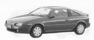 Nissan NX COUPE 1600 TYPE S T BAR ROOF 1992 г.