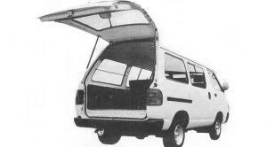 Toyota Townace VAN 2WD SUPER SINGLE HIGH ROOF 2.0D GL 1992 г.