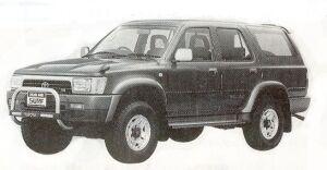 Toyota Hilux Surf WAGON V6 3000 4DOOR SSR-G WIDE BODY 1992 г.