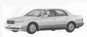 Toyota Crown Majesta C 1992 г.