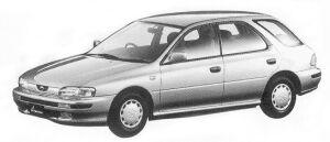 Subaru Impreza SPORT WAGON 1.6L CS 1992 г.