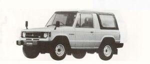 Mitsubishi Pajero CAMPUS TOP GASOLINE 3000 SUPER SPORT 1990 г.