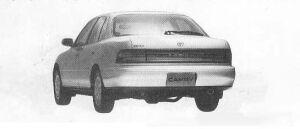 Toyota Camry SEDAN FULL TIME 4WD 2000ZX 1990 г.