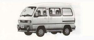 Suzuki Every INTERCOOLER TURBO PS FULL TIME 4WD 1990 г.