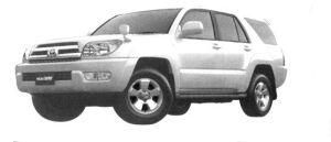 Toyota Hilux Surf 4WD SSR-G 3400 Gasoline 2004 г.