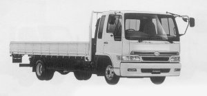 Hino Ranger SPACE FD WIDE CAB 1999 г.