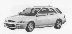 Subaru Impreza SPORTS WAGON C'Z SPORT 1999 г.