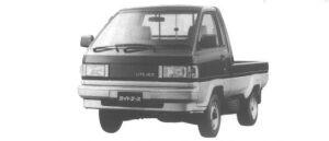 Toyota Liteace Truck SUPER SINGLE 750KG 1.5 GASOLINE SUPER X 1995 г.