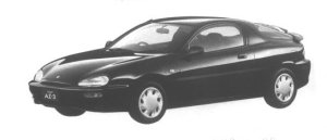 Mazda Autozam AZ-3 1500Si-SELECTION 1994 г.