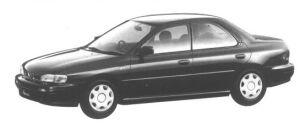 Subaru Impreza 4 DOORS HARD TOP SEDAN 1.5L CX 1994 г.