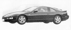 Nissan Fairlady Z 300ZX TWIN TURBO 2BY2 T BAR ROOF 1991 г.