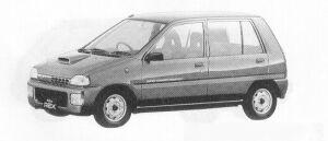 Subaru REX 5DOOR SEDAN V 1991 г.