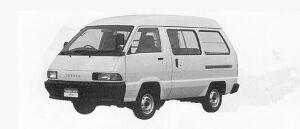 Toyota Townace VAN 2WD HIGH ROOF 5DOOR 2000 DIESEL GL 1991 г.