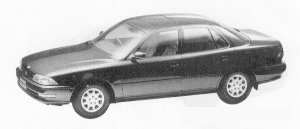 Toyota Camry SEDAN 2000ZX 1991 г.