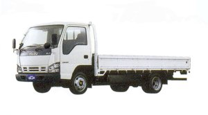 Isuzu Elf CNG-MPI Smoother-E Flat Low Long Body 2005 г.