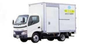 Hino Dutro Standard Cab, CNG Aluminium Van 2005 г.