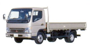 Mitsubishi Fuso CANTER Wide High Floor, Long Body Truck 2005 г.