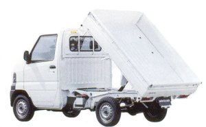 Mitsubishi Minicab Truck DUMP Truck 2005 г.