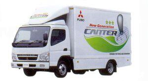 Mitsubishi Fuso CANTER D-VAN Truck 2005 г.