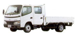 Hino Dutro Standard-width  Double Cab, Long, Full Low Floor 2005 г.
