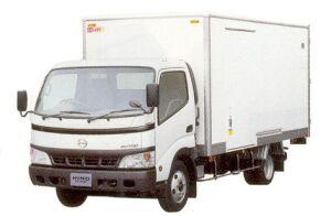 Hino Dutro Wide Cab, LOBOX  Aluminium  Van 2005 г.