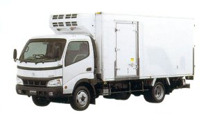 Toyota Dyna Package-Type Low Temperature Refrigeration Truck 2005 г.