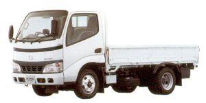 Hino Dutro Standard-width Cab, Standard  Length, Full  Low  Floor 2005 г.